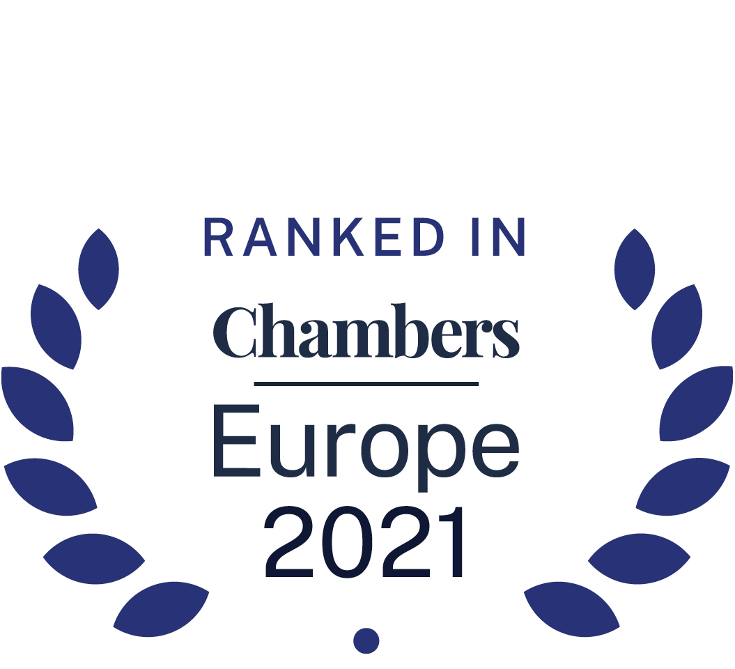 Ranked in Europe Chambers and Partners